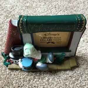 Vintage Disney Jiminy Cricket Christmas Frame